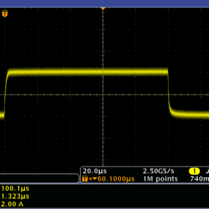 2A 37.6V Precision Pulse with 1.32µs rise time.